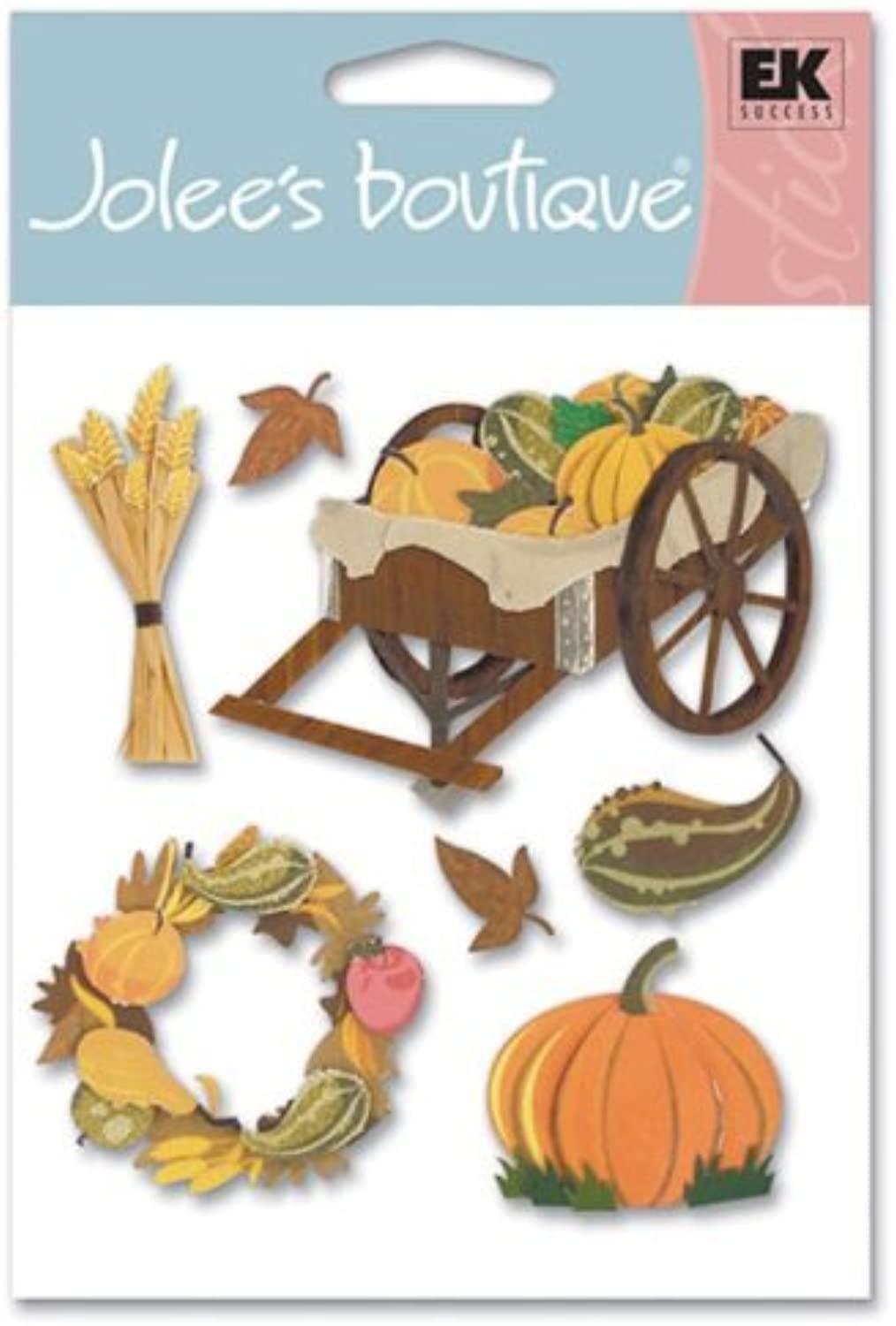 Jolee's Boutique Dimensional Stickers, Pumpkin Harvest by Jolee's Boutique B01KBBGK5Q | Spezielle Funktion