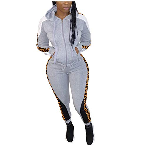 Learn More About Missli Women's Sexy 2 Piece Outfits Long Sleeve Patchwork Hooded Jacket Pants Track...