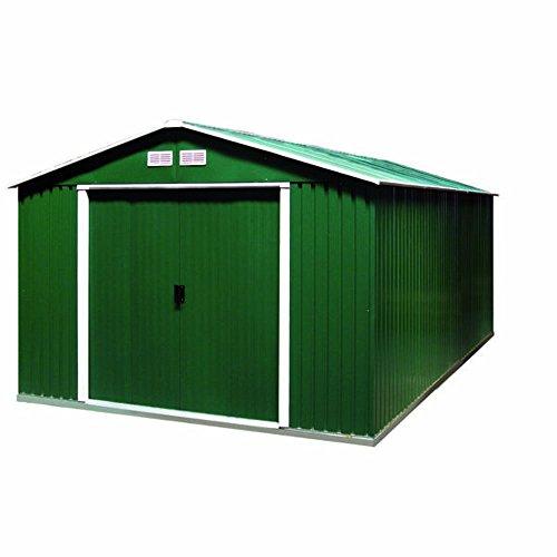 Tepro Gartenhaus/Metallgerätehaus Colossus 10x12 grün