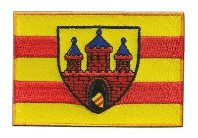 Aufnäher Patch Flagge Deutschland Stadt Oldenburg - 8 x 6 cm