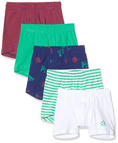 Schiesser Jungen Multipack Boys World 5Pack Shorts Boxershorts, Mehrfarbig (Sortiert 1 901), 92 (5er Pack)