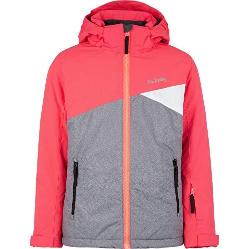 McKINLEY Kinder Mädchen Skijacke Chloe II pink grau, Größe:152