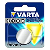 Pile bouton lithium, pile Varta CR2032 pour blister Pokemon GO Plus