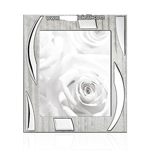 OTTAVIANI 25584. M Bilderrahmen Perlmutt Home, Bilderrahmen in Silber 925INT cm 20,4x 24,2; Est cm 29,5x 33,3, Preisliste € 238,00