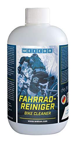 WEICON Fahrradreiniger 500 ml | Reiniger für alle Arten von Fahrrädern | reicht für bis zu 20 L Reinigunsmittel