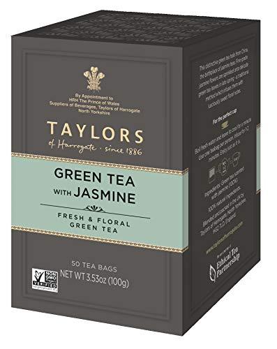 Taylors of Harrogate Green Tea with Jasmine, 50 Teabags