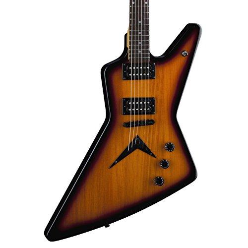 Dean ZX TBZ Elektrische Gitarre, Gelb