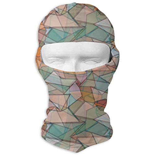 MKDOQS Abstract Color Art Full Face Mask Sun Dust Wind Protection Durable Breathable Seamless Face Mask Bandana