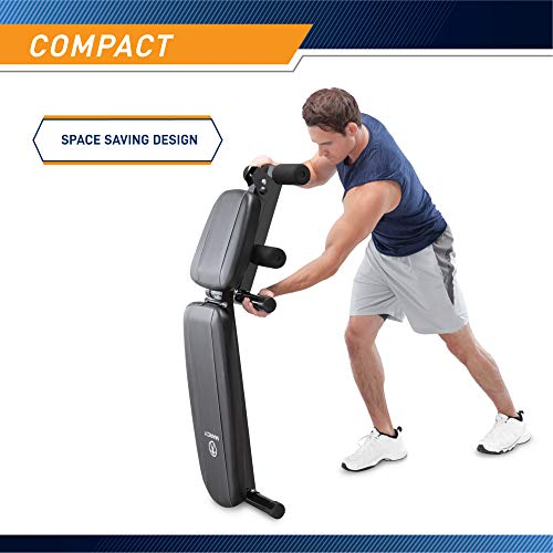Marcy Multi-Position Workout Utility Bench for Home Gym Weightlifting and Strength Training SB-10115