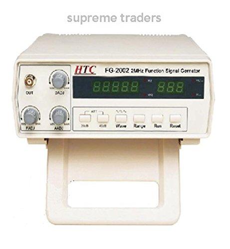 HTC Fg-2002 Digital 0.2 Hz ~ 2 Mhz Function Generator with 5 Digit Led Display