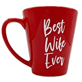 Best Wife Ever Mug - Wife Gifts from Husband | Best Wife Coffee Mug Gift - Valentine Mugs Cups | Funny Coffee Mug by Find Funny Gift Ideas Variations Ftardo (Best Wife Ever)