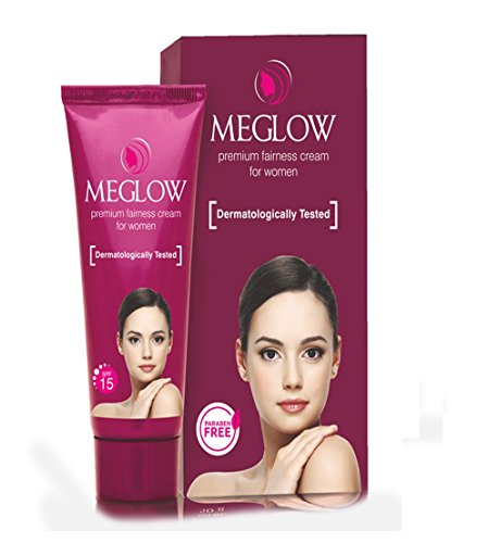Meglow Instant Fairness Cream for Women & Glowing Blemish Free Skin Scar 30g (1 Oz)