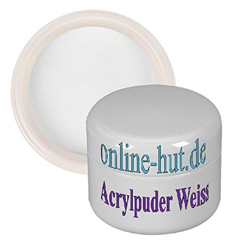 online-hut Acryl-Puder 15ml weiss