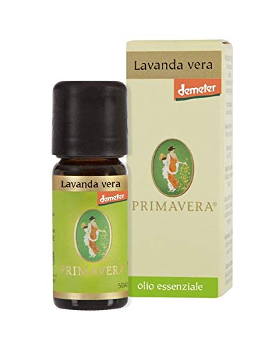 Flora Olio Essenziale di Lavanda Vera Bio Demeter, 10 ml
