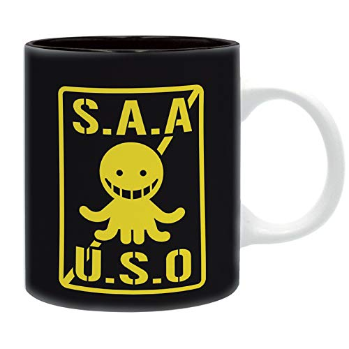 ABYstyle - Assasssination Classroom - Taza - 320 ml - S.A.A.U.S.O