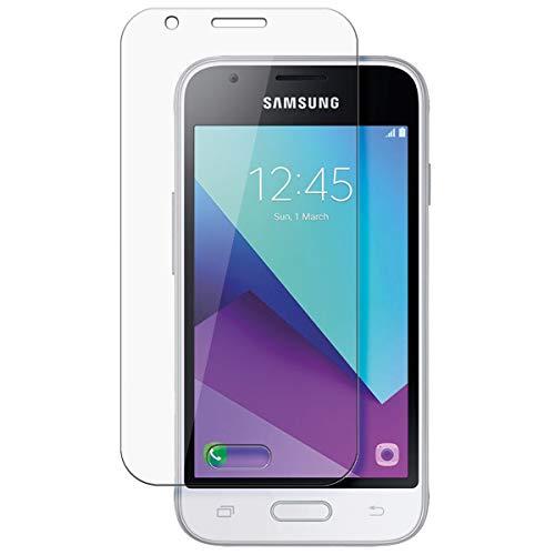 disGuard Schutzfolie für Samsung Galaxy J1 Mini Prime [2 Stück] Kristall-Klar, Bildschirmschutzfolie, Glasfolie, Panzerglas-Folie, Bildschirmschutz, extrem Kratzfest, Schutz vor Kratzer, transparent