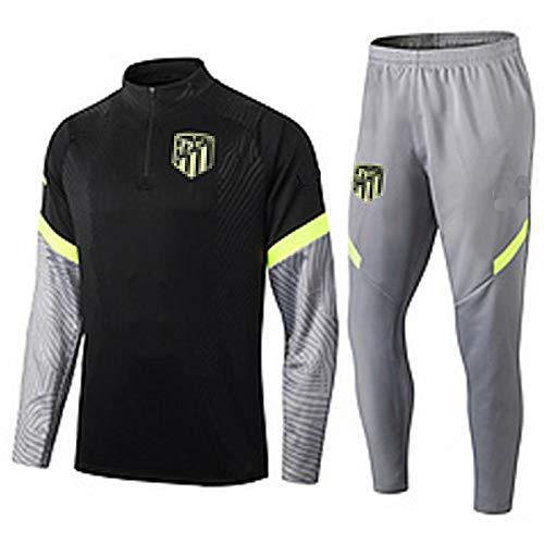 CCJJ Traje de entrenamiento de fútbol 2021 Atlět CCC, camiseta de fútbol, uniforme de entrenamiento de equipo, equipo de fútbol deportivo, equipo de fútbol, jersey de malla de alta flexibilidad, M