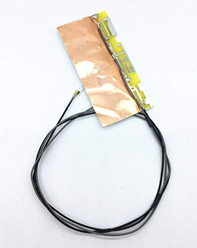 Miwaimao 1 Pair Laptop Internal U.FL Antenna Wire WiFi Cable for Intel 3160 7260 6200 6230 Mini PCI-E Wireless Card 58cm/22.8'