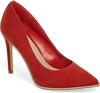حذاء Harleigh Kidsuede مدبب عند الأصابع من BCBGeneration (7) أحمر محروق