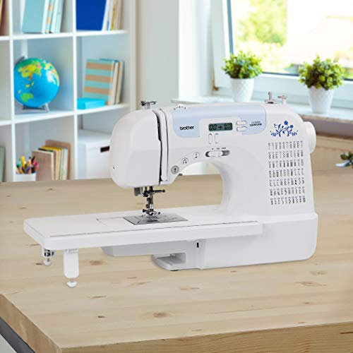 """Brother CS7000i Sewing and Quilting Machine, 70 Built-in Stitches, 2.0"""" LCD Display, Wide Table, 10 Included Feet"""