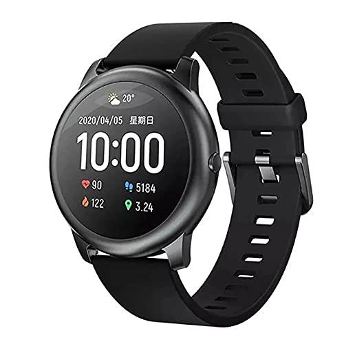 ZGZYL LS05 Reloj Inteligente para Hombres con Ritmo Cardíaco Y Monitoreo De Sueño Monitoreo De Reloj Fitness Tracker Pedómetro Cronómetro IP68 Reloj Deportivo A Prueba De Agua