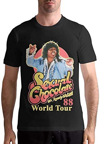 Sexual Chocolate Randy Watson Mens Soft Short Sleeve tee Shirt