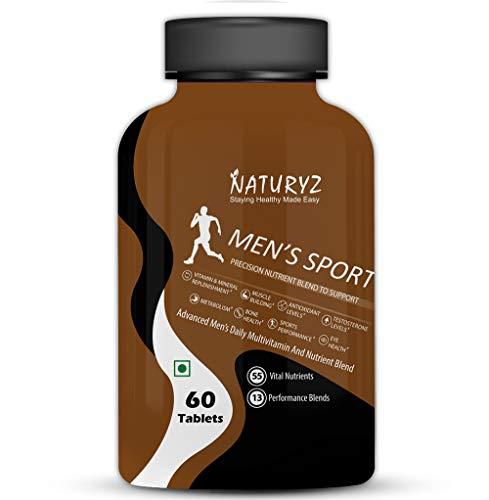 Naturyz Men's Sport Multivitamin With 55 Vital...