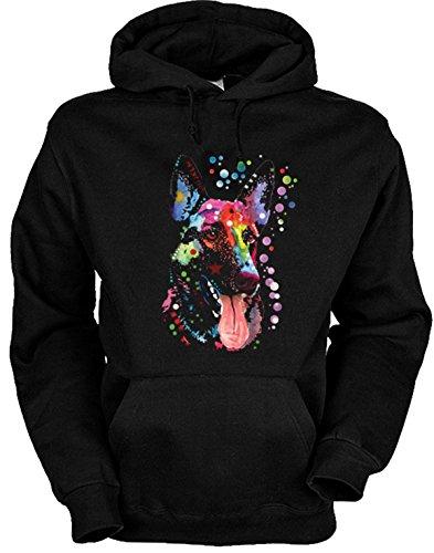 trag-das Deutscher Schäferhund - Hunde Kapuzensweater mit Hundemotiv Sweater Pullover mit Kapuze für den Hundefreund
