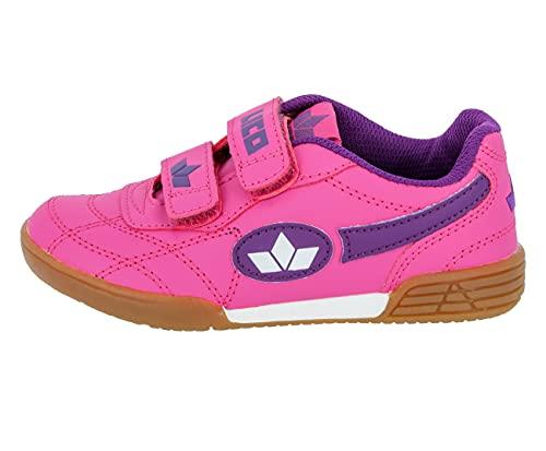 Lico Bernie V Mädchen Multisport Indoor Schuhe, Pink/ Lila/ Weiß, 27 EU