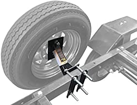 MAXXHAUL 70214 Powder Coat Black Trailer Spare Tire Carrier