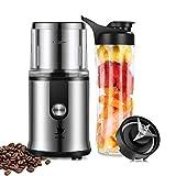 Nestling® 2 in 1 Multifunktion Mini Elektrische Kaffeemühle 300W 50-60Hz