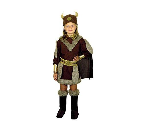 Disfraz de Vikinga 7-9 años para niña