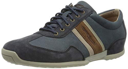 camel active Herren Space Sneaker, Blau (jeans/navy kombi 02), 46 EU