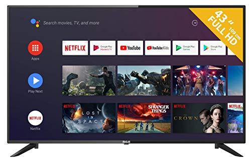 pas cher un bon Téléviseur Android RCA RS43F2 (téléviseur intelligent Full HD de 43 pouces avec assistant Google), Chromecast intégré,…