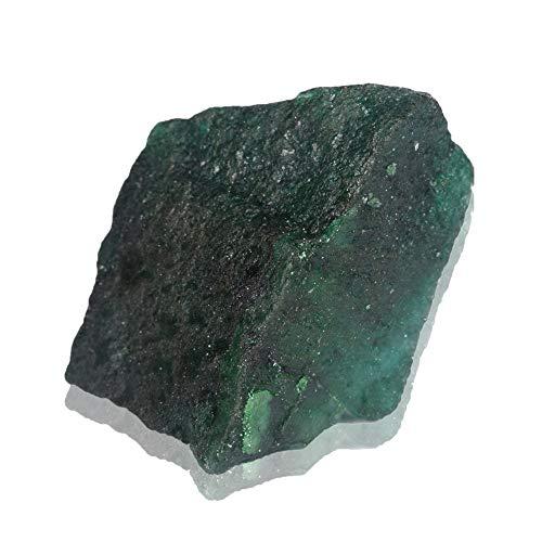 641.50 CT Piedras Preciosas Sueltas de Esmeralda Natural, Piedra en Bruto en Bruto, Piedra Suelta de Esmeralda Cetified EGL para Envoltura de Alambre