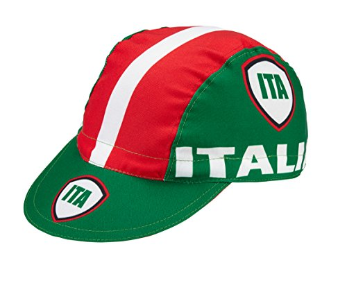 Italia Roma Gorra de ciclismo, diseño retro
