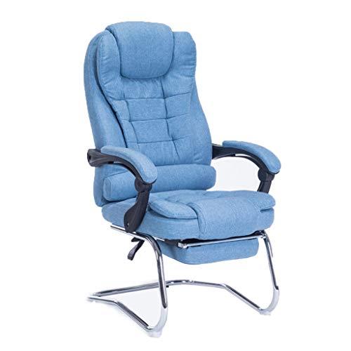 Chair Bürostuhl, ergonomischer Computertisch und Stuhl, Stahlsockel für 80 kg, Dickes Kissen, bequemer im Sitzen, 90-175 Grad verstellbar