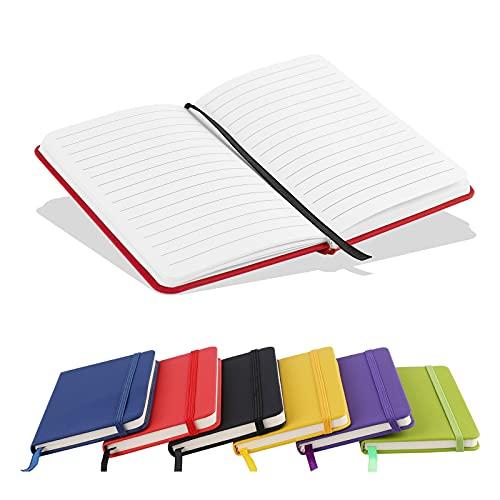 A6 Notebook, Pocket Notebook Small Notebooks Hardback Notebooks A6 Notepad...