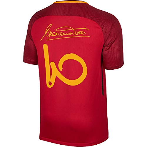 Nike AS Roma Home Totti Signature Jersey 2017/2018 - M