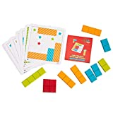Fat Brain Toys Shape Game - Little Thinker's Block Logic Puzzles Brainteasers for Ages 3 to 6