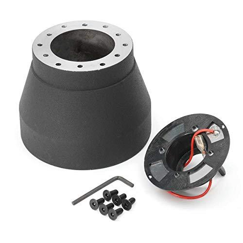 No-Branded Renn-Lenkrad Hub Quick Release Adapter Boss Kit for B-M-W 3er E30 82-91 Lenkradnabe Boss Kit