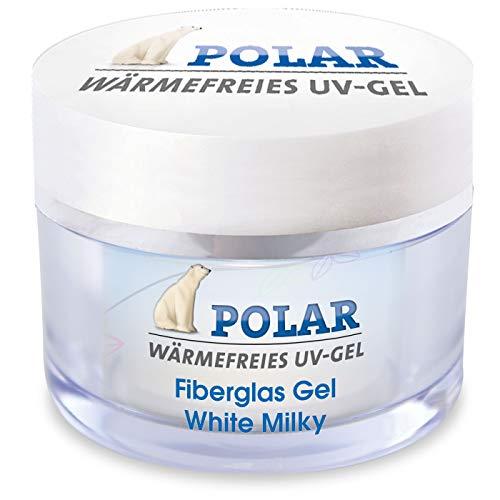 Fiberglas UV Gel white milky 15ml