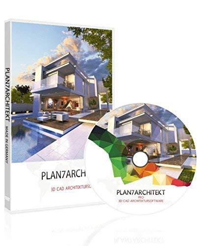 Plan7Architecte Pro 2020 - Logiciel professionnel de CAO 2D/3D pour la planification de maison et programme d'architecture pour les plans d'étage