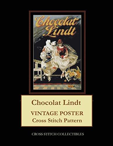 Chocolat Lindt: Vintage Poster Cross Stitch Pattern