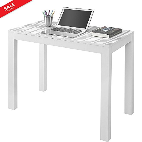 Narrow Laptop Table with Drawer Computer Desk Study Table Home Office Furniture Modern Sleek Lines Multipurpose Console Table Foyer Hallway Accent Table Decorative Contemporary & eBook by BADA Shop