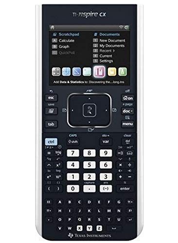 Texas Instruments Nspire CX Grafische rekenmachine voor wiskunde en wetenschap