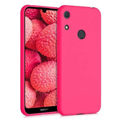 kwmobile Hülle kompatibel mit Huawei Y6s (2019) - Hülle Handyhülle - Handy Hülle in Neon Pink