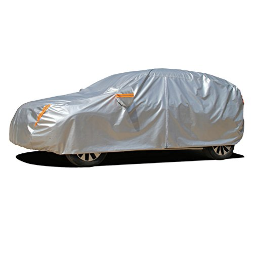 Kayme 6 Layers SUV Cover Waterproof All Weather for Automobiles, Outdoor Full Cover Rain Sun UV...