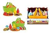 Toi- Toys 13551Z Spiel Set Obst, Gemüse für Kinder Jungen Mädchen Rollenspiel Motorik Essen Küche Obstladen Gemüseladen Kaufladen Supermarkt Kinderspielzeug Spielzeug