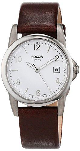 Boccia Damen-Armbanduhr XS Analog Quarz Leder 3298-02